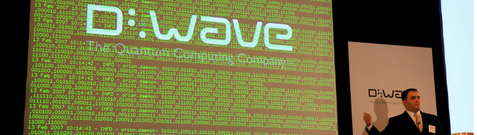 Quantum computing future D-Wave