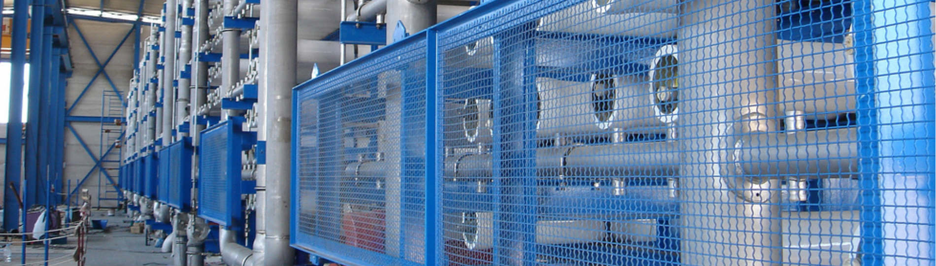 Desalination water plant drinkable