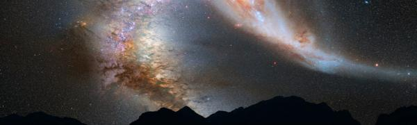 Milky way, galaxy, fossil, space
